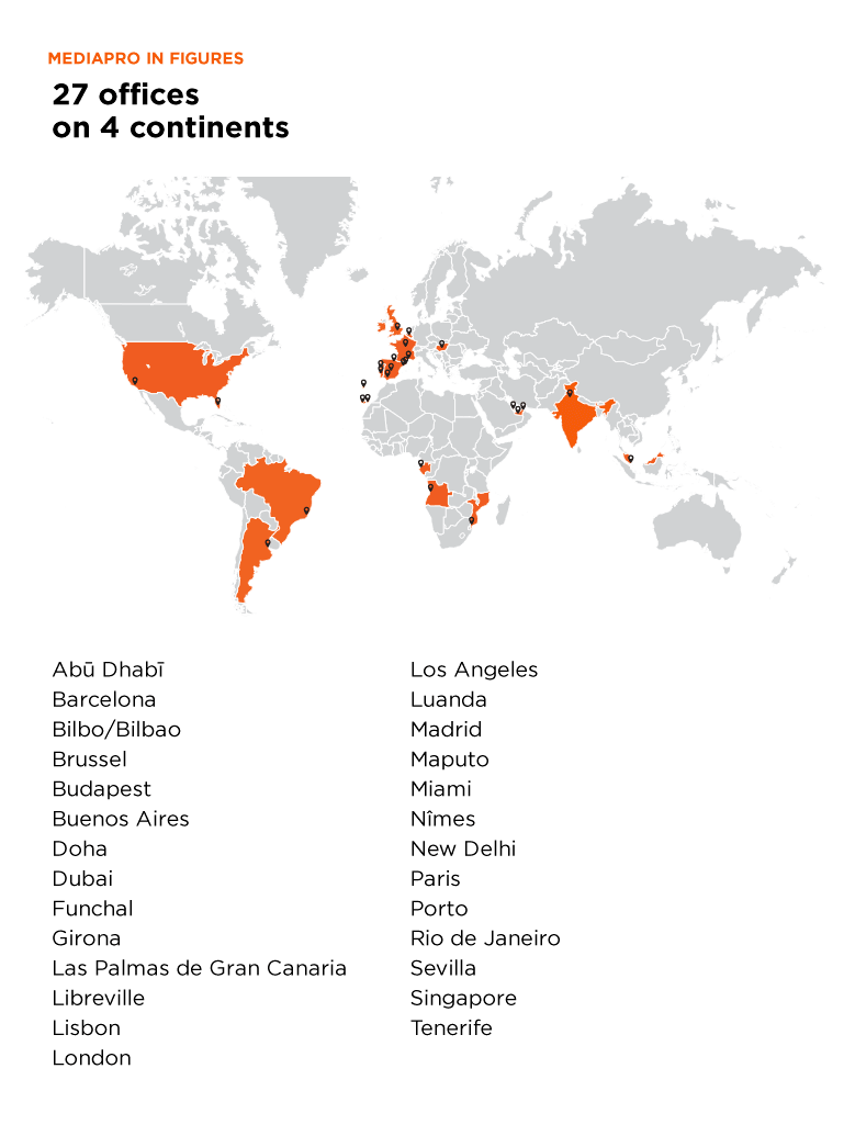 27 offices on 4 continents